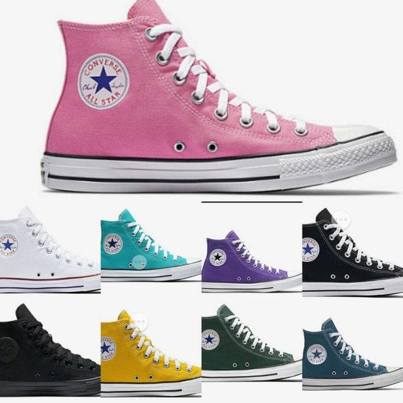Rosa Perle Converse, Kinder Converse, Kinder benutzerdefinierte hoch oben Converse, Kinder Bling hoch oben Converse, Kid Chucks Converse, Rosa