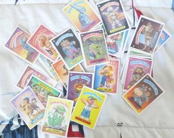1986 Garbage Pail Kids GPK Random Lot of 10 Cards All Originals! No Duplicates