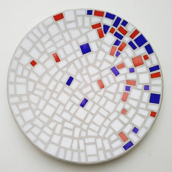 "Bamboo Mosaic Bowl ""Floating Concentration"""