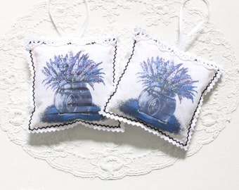 Lavender pillow scent cushions lavender ' Provence ' handmade aromatherapy Dragonflys Home