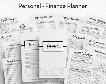 finance planner budget planner expense tracker income etsy
