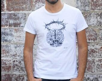 """T - Shirt man """"Cerebrum"""""""