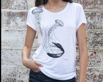 "T-Shirt woman ""Jellyfish"""