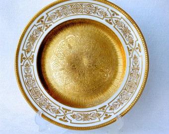 Dinner plate George Jones & Sons Crescent Gold Encrusted
