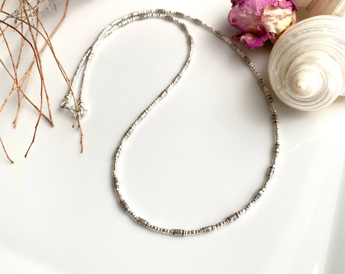 Necklace made of Hilltribe Silver