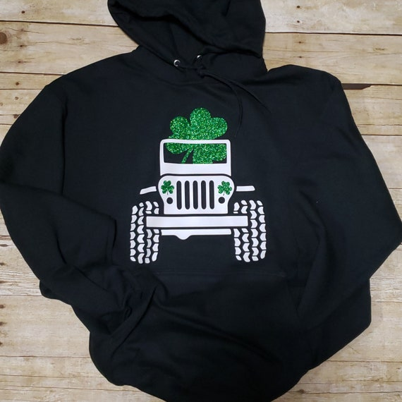 Can/'t Regret St Patricks Day White Adult Hoodie
