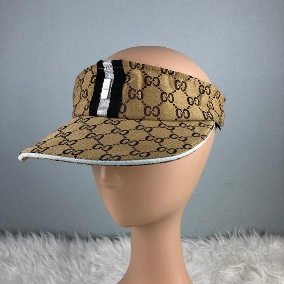 354ddbbcc2dd7 RARE   COLLECTION Authentic Gucci Collection Monogram GG Cap