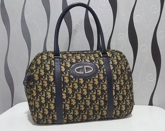 Authentic Christian Dior Monogram Boston 30 Bag / Christian Dior Bag / Vintage Christian Dior Bag / Gucci Gang