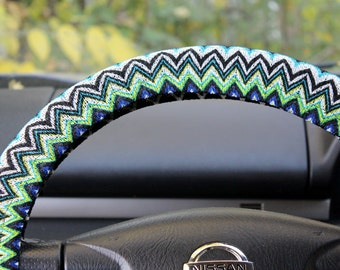 Steering wheel cover steer cover car decor accessories | Etsy
