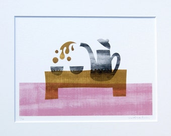 Tea for two; artprint incl. passepartout 20x30cm (limited edition)