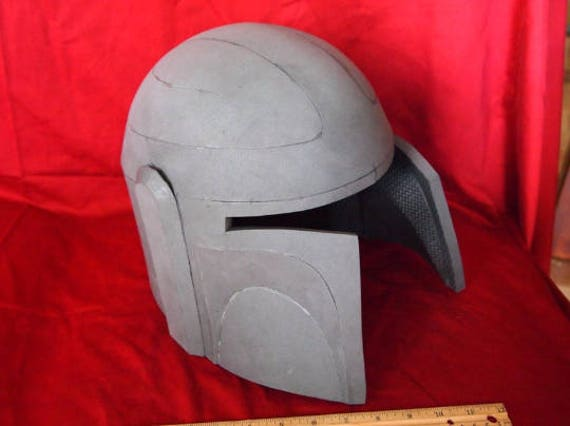Pattern  Boba Fett    Mandalorian Style Helmet Advanced