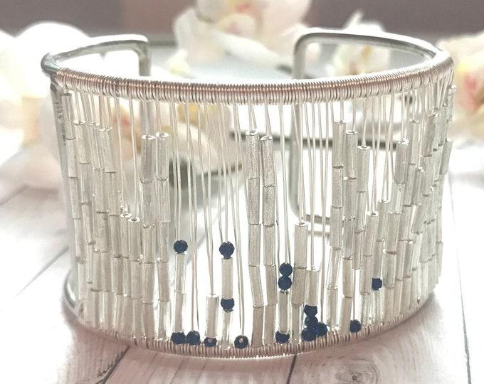 Morse Code Mantra bracelet - Peace, Love, Joy