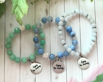 Enjoy the Journey - charm bracelet