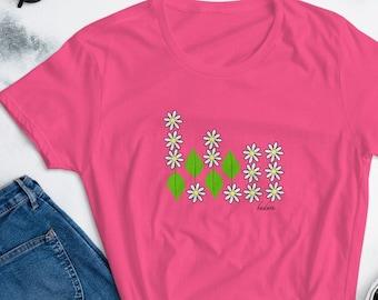 Badass - Women's short sleeve t-shirt, Morse Code design, workout-shirt