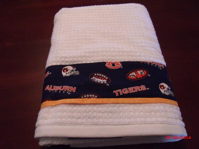 Auburn University Towel And Shower Curtain Set Tigers