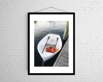 Row Boat for One | Coast Print | East Coast | Photography Print