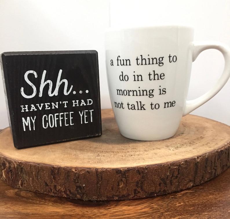 Humour Pas À Personnalisé Du Un Matin Café Mug Personne Cadeau Drôle Tasses 0w8POknX