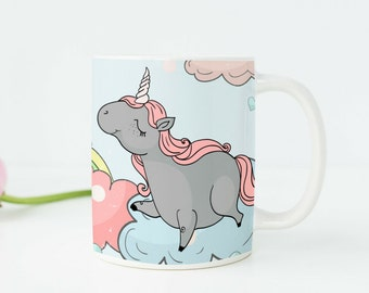 Unicorn Gift Unicorn Mug Unicorn Cup Unicorn Party Favors Unicorn Party Decor Unicorn Art Unicorn Decor Unicorn Birthday Party Cute Mug a58