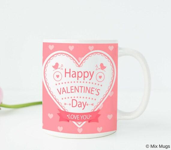 Valentines Day Gift For Her Valentine Mug Valentine Cup Etsy