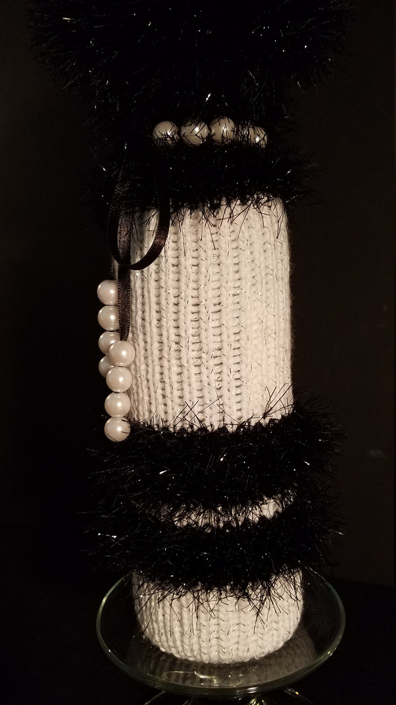 Elegant Wine Bottle Bags Knitted Handcrafted Elegant Upscale Handcrafted Knitted Packaging