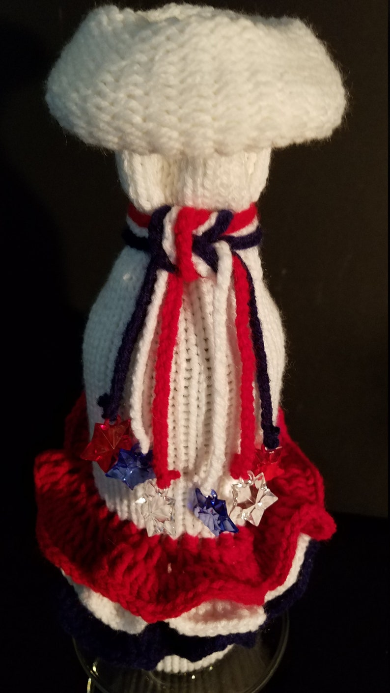 Elegant Upscale Handcrafted Knitted Packaging Knitted Handcrafted Elegant Wine Bottle Bags