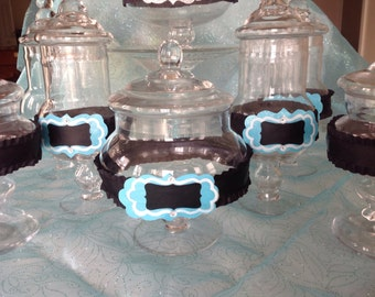 Apothecary Jar Candy Buffet with Lid