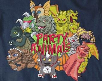 Boy's Birthday Party Shirt, Boy Birthday Gifts, Boy Animal Shirt, Birthday Boy Shirt, Kids Birthday Party, Monster Movie T-Shirt, Kids Shirt