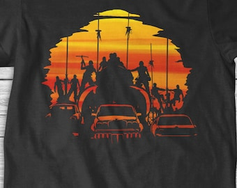 New Mad Max Fury Road Warboys The Road Warrior Sunset Youth Kids Shirt and Toddler Shirt Sizes