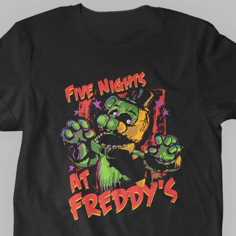 Kids' Clothes, Shoes & Accs. Boys' Clothing (2-16 Years) Five Nights At Freddys Fnaf Optional Personalised Kids T Shirt Spooky 2 Easy To Use