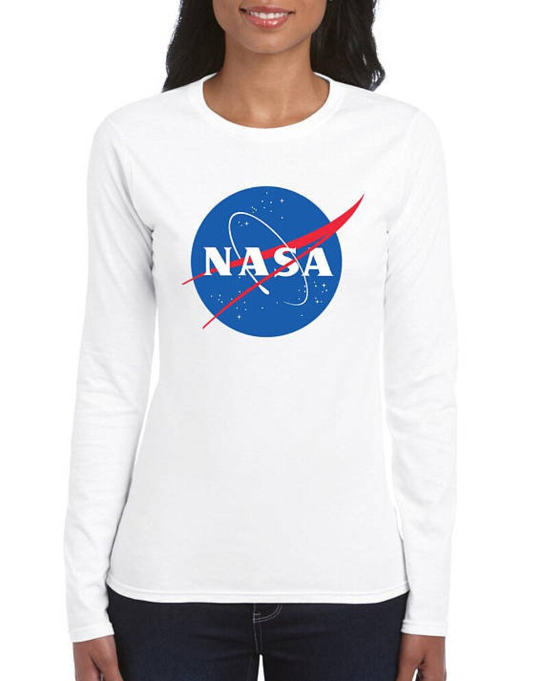 fc59008b Nasa Long Sleeve Shirt Gift T-Shirt With Sayings T-Shirt For | Etsy