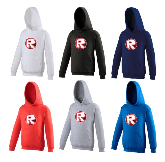 Children unisex Gamer Roblox hoodie online xbox ps4 Wii gaming Hoody Ideal  for Gift - Various Colours