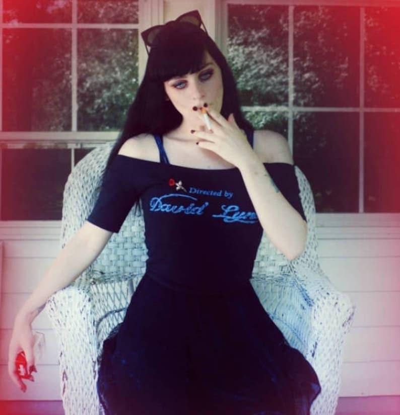 75b68206 Directed by David Lynch Cult Film Blue Velvet Unisex T | Etsy