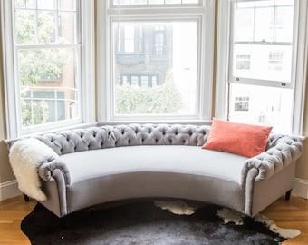 Curved Sofa Etsy