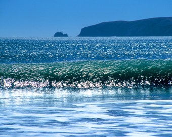 Wave and Chimney Rock, Point Reyes National Seashore