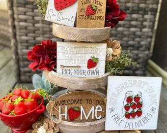 Strawberry Decor Etsy