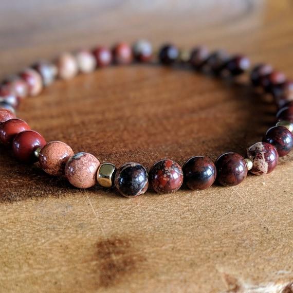Beaded Stretch Bracelet Jewelry Gifts Neutral Jade Beaded Bracelet Stretch Bracelet Jewelry for Women Stacking Bracelets