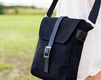 Crossbody Bag - Black Crossbody Bag for Women - Handbag Crossover Bag - Satchel Bag - Shoulder Bag - Black Cross Body Bag - Messenger Bag