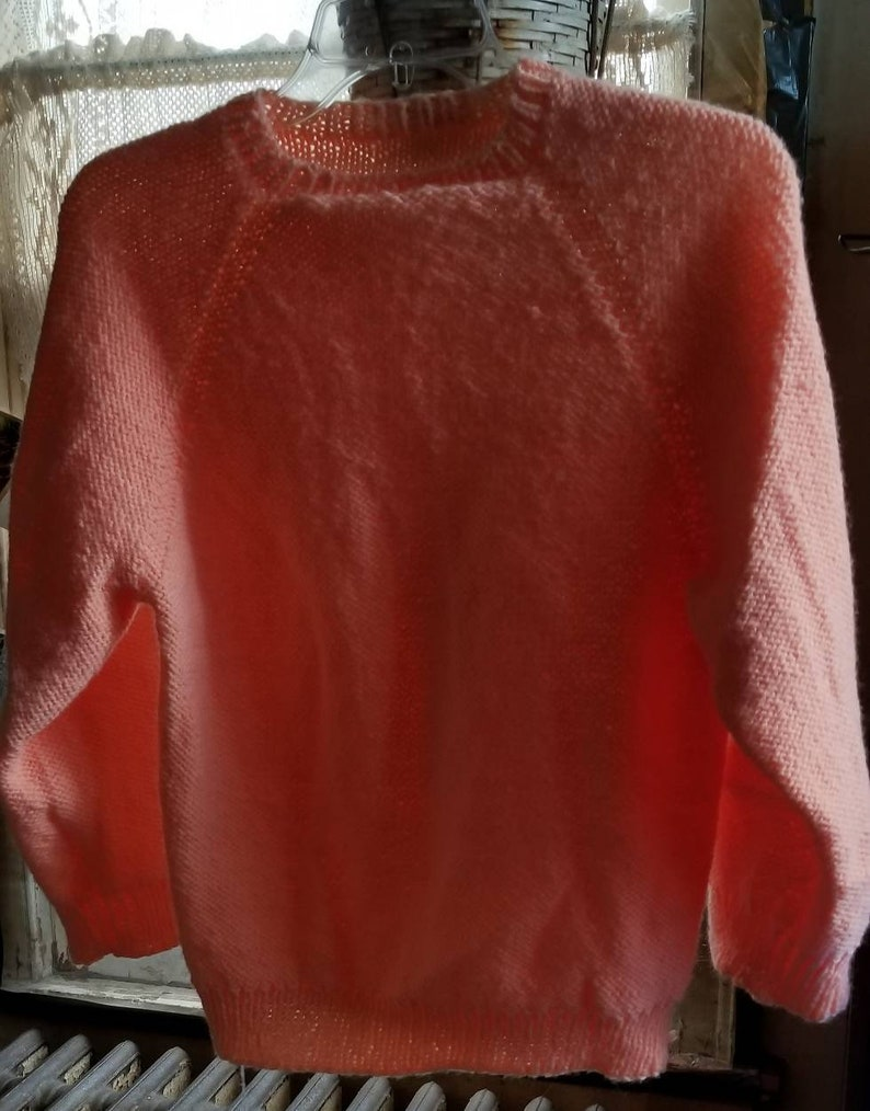 Knit Peach Sweater