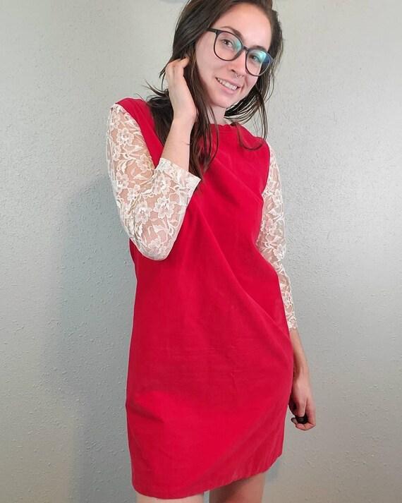 Handmade 1960s, shift dress, gogo dress