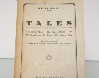 Rare Oscar Wilde Tales (Italian Print)