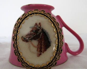 Horse Cameo Pendant/Brooch