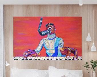 "Stevie Wonder, ""Superstition"" (Giclée Art Print)"
