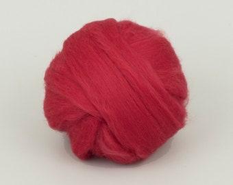 Carded Wool Batt wool for Felting 100/% wool colour Carrot for spinning and needle felting 1.77 oz 50gr