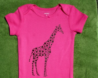 Giraffe Baby Onesie, Wildlife, Love Nature Baby Onesie