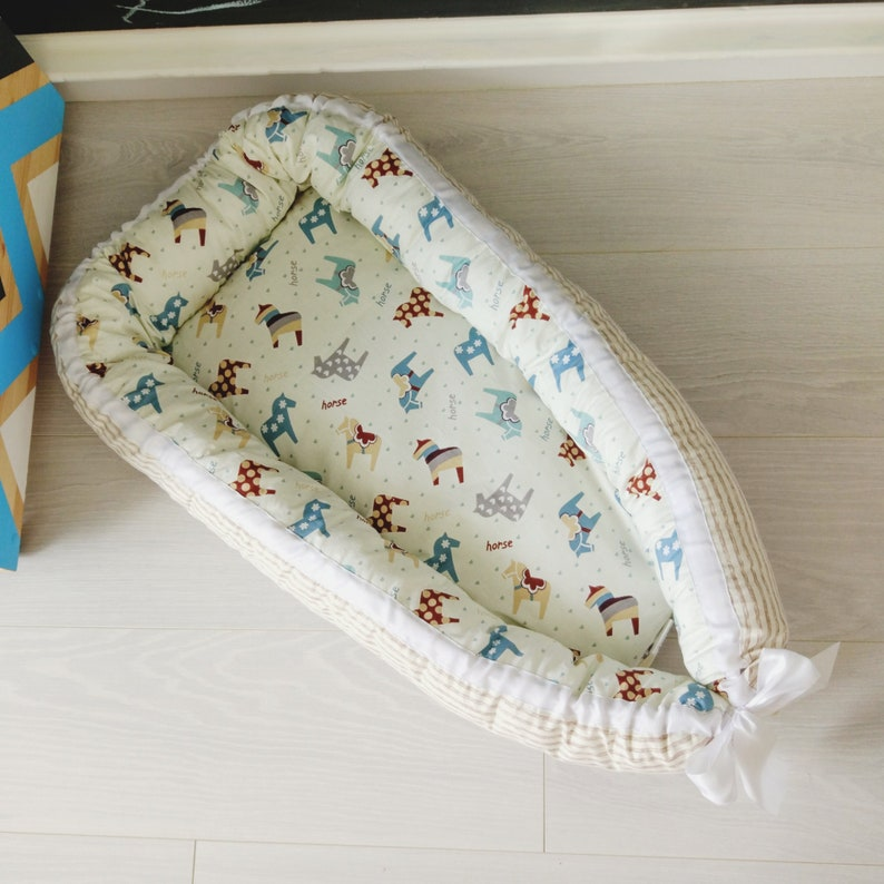 Baby nest baby cocoon baby nest bed co-sleeper pillow bed  d22df79b2
