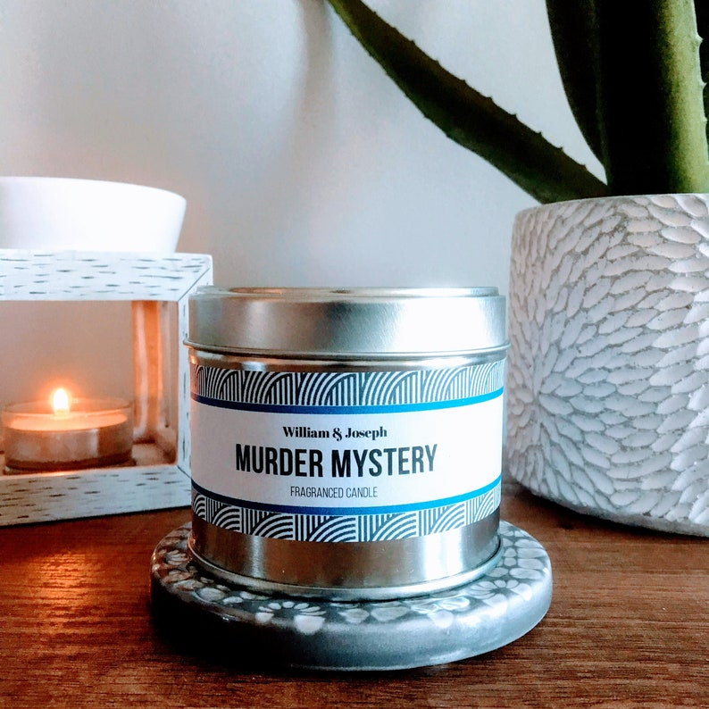 Murder Mystery Candle  Book Candles Bookish Candles Book image 0