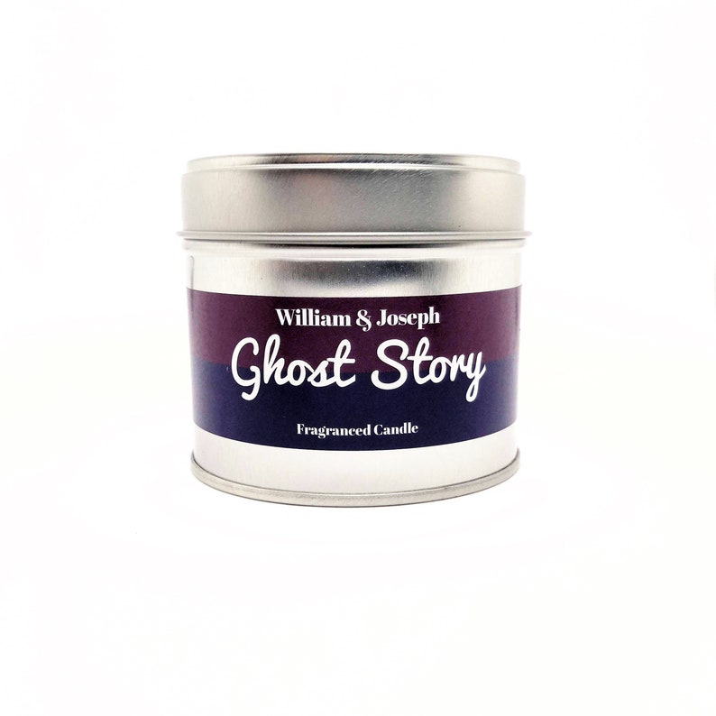 Ghost Story Scented Candle  Woman in Black Inspired Horror image 0