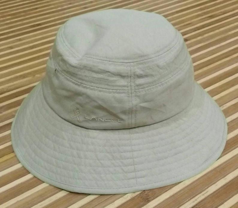 a18b3b621f3 Vtg Womens LANCEL PARIS Bucket Hat