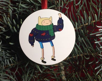Adventure Time Finn Christmas Tree Ornament