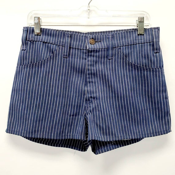 """Vintage Black Tab Big E Striped Levi's Shorts 31"""""""